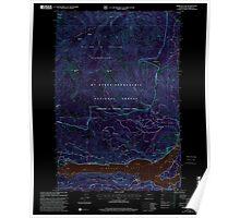 USGS Topo Map Washington State WA Rimrock Lake 243463 2000 24000 Inverted Poster