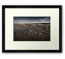 Tidal Transition Framed Print