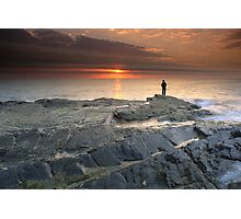 """The Fisherman"" ∞ Currumbin, QLD - Australia Photographic Print"