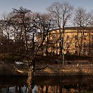 The water ways in Goteborg, Sweden. by Ryan Carter