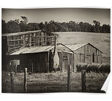 Old Farm Poster