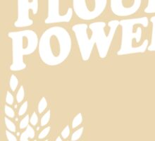 Flour Power Sticker