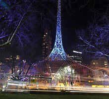 The Arts center building - Melbourne Victoria by jjabbour