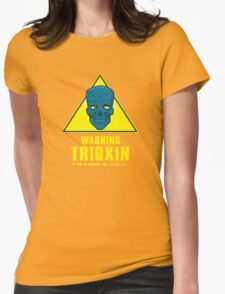 Warning - Trioxin Womens Fitted T-Shirt