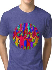 Colourful Crowd Tri-blend T-Shirt