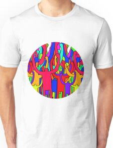 Colourful Crowd Unisex T-Shirt