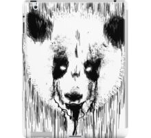Creepy Panda iPad Case/Skin