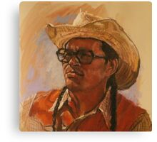 The Snake Seller Canvas Print