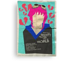 Scott Pilgrim Verses The World - Saul Bass Inspired Poster Canvas Print