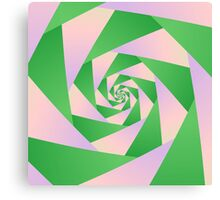 Spiral with Four Arms Canvas Print