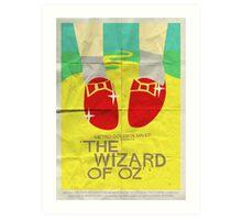 Wizard Of Oz - Saul Bass Inspired Poster Art Print