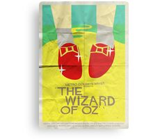 Wizard Of Oz - Saul Bass Inspired Poster Metal Print