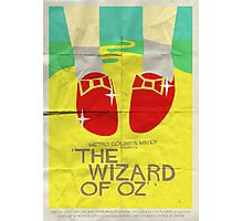 Wizard Of Oz - Saul Bass Inspired Poster Photographic Print