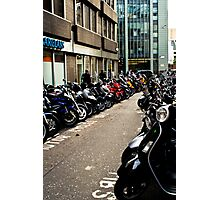 Bike Park Photographic Print