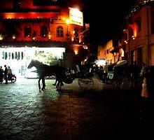 Marrakesh. Djemaa el Fna Square. by scribblerjo