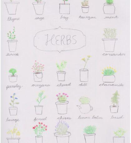 Herb Sticker