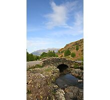 Ashness Bridge The Lakes Photographic Print
