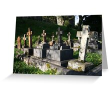 Headstones  ~ Lest We Forget Greeting Card