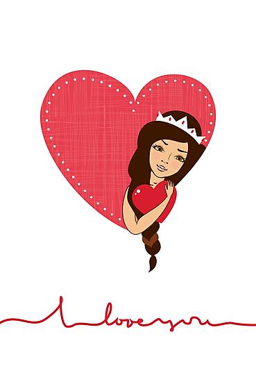 I love you  by Anastasiia Kucherenko