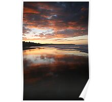 Sunset Whitby ~ North Yorkshire Poster
