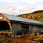 Bartonsville Covered Bridge by djphoto