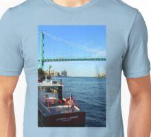 Joseph J Hogan Mail Boat To Freighters On Detroit River Unisex T-Shirt