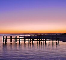 BOAT RAMP AT DAWN by FLYINGSCOTSMAN