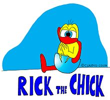 "Rick the chick ""YOGA 13"" by CLAUDIO COSTA"