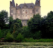The castle of Juzet  France by photolumen