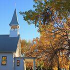 Autumn on the Prairie by Rachel Sonnenschein
