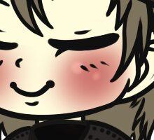 Peaceful Shinjiro Sticker