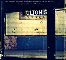 The Subway, poetry and picture. by Melinda  Ison - Poor