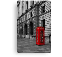 London Red Telephone box  Canvas Print