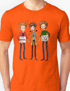 Stop Hurting Cas - Team Free Will T-Shirt