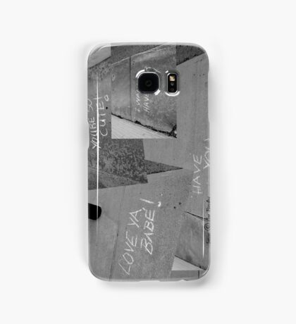 Sidewalk Love Samsung Galaxy Case/Skin