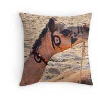 Pushkar, Rajasthan Throw Pillow