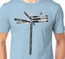 London Signpost Unisex T-Shirt