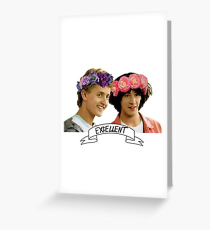 Be Excellent To Eachother Greeting Card