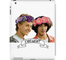Be Excellent To Eachother iPad Case/Skin