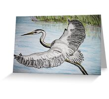 We have lift off Greeting Card