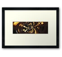 Twisted City Framed Print