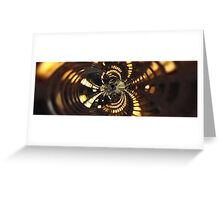Twisted City Greeting Card