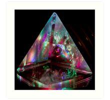 Pyramid Transmitter Art Print