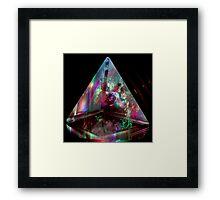Pyramid Transmitter Framed Print