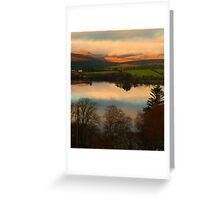 The Lake in November Greeting Card