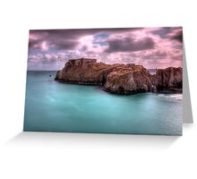St Catherines Rock Tenby Pembrokeshire 2 Greeting Card