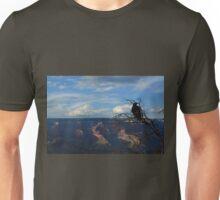 Surveying his kingdom Unisex T-Shirt