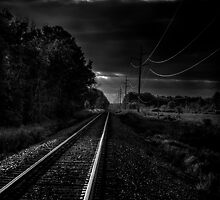 Train Tracks To Town by Thomas Young