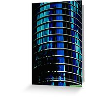 BLUE giant Greeting Card