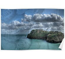 St Catherines Rock Tenby Pembrokeshire 4 Poster